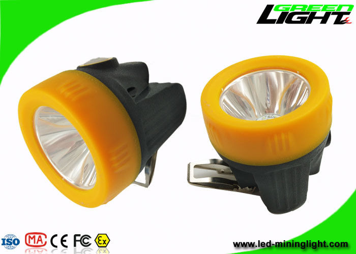 Lithium Ion Battery Rechargeable LED Headlamp Anti Explosive Portable 10000lux IP68