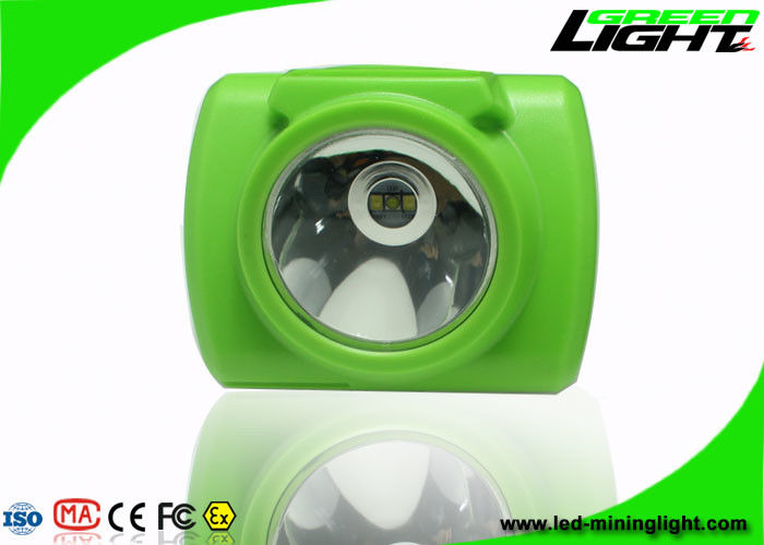 13000 Lux Underground Coal Mining Lights Waterproof Rechargeable 6.8Ah Li - Ion Battery