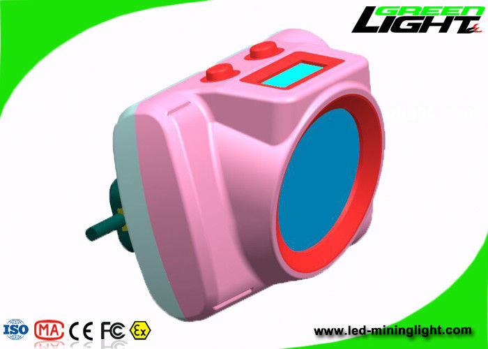 25000lux Strong Brightness Cordless Mining Cap Lamps ABS Material Explosion Proof