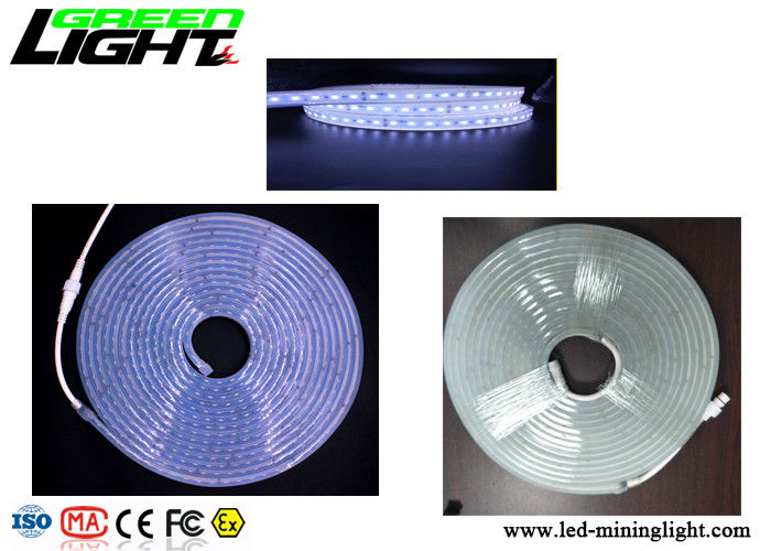 24V Led Flexible Strip Light Super Toughening Silica Gel Soft Suit For Underground Mine