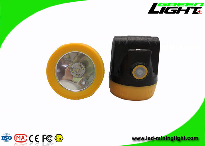 143lum Cordless Cap Lamp Matte Surface IP68 Waterproof For Underground Mining Jobs
