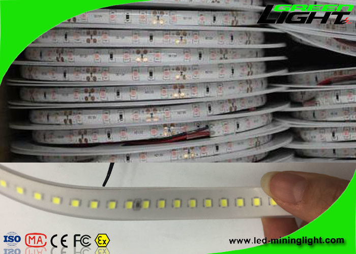 5050 Smd Waterproof Led Strip Lights Flexible 24v Bright White Fire Resistant