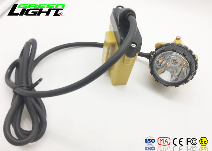 2A Charger Super Bright Led Headlamp Aluminum Cup Material For Miner / Hunting