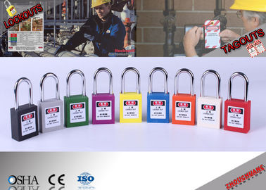 China Steel Shackle Lock Out Padlocks  factory