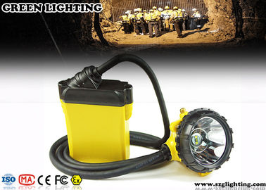 China 10.4AH Waterproof Miners Light , 25000 Lux Strong Brightness Miners Lamp  factory