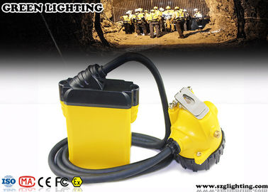 China 10.4AH Coal Miner Hard Hat Light Corded Style 25000 Lux Strong Brightness factory