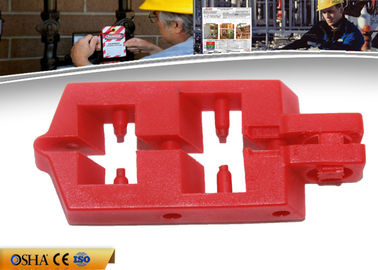 China ZC-D21 Breaker Safety Lock Out Modified Industrial Plastic Nylon PA Material factory