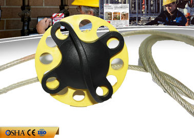 China ZC-L41 Cable Safety Lock Out With 185 Weight ABS Material 2m Cable Steel Body factory