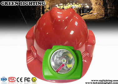 China Cordless Miner Cap Lamp Designed For Outdoor Rechargeable Led Headlamp factory