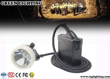 China Anti Explosive Corded Cree Led Headlamp Rechargeable With 6.6Ah Battery Capacity factory