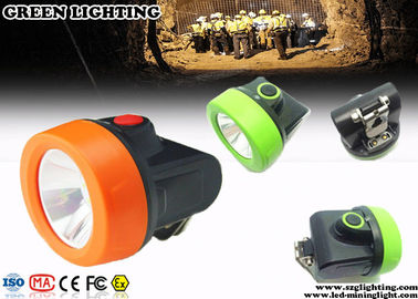China 110 Lum Cordless Style Mining Hard Hat Lights With Charging Indication Lights factory