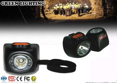 China 8000lux Digital Cordless RechargeableLed Headlamp With 4.5Ah Li - ion Battery factory
