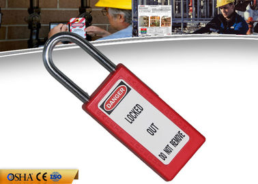 ZC-G81 Safety Lockout Padlocks Long Body Steel Shackle Light Weight