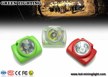 China 6.2Ah Led Mining Lamp / Oled Display Digital Cordless Mining Lights Small Size factory