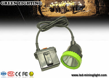 50000 Lux Opal Corded LED Mining Light Safety Hunting Miners Cap Lamp 11.2Ah Battery