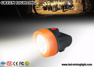 ABS Light Weight LED Mining Light , IP68 grade Professional Miner Cap Lamp