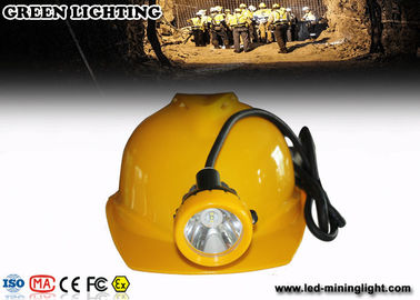 Hard Hats Mining Cap Lights , 12000lux Cordless Led Mining Cap Lamp Ultra Bright