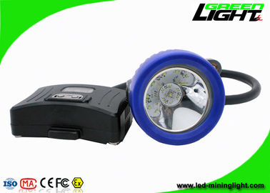 China Semi - Corded Coal Led Mining Headlamp 10000 Lux with 16 Hours Lighting Time factory