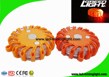 Rechargeable Safety LED Road Flares , Portable Emergency Warning Strobe Lights for Undercarriage Lighting