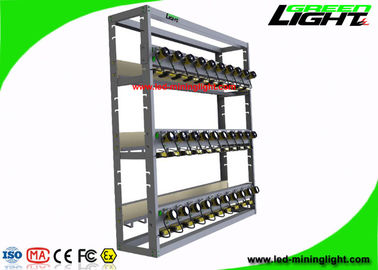 China Coal Mining Light Charging Rack High Safety With 8 Units Per Modular Both Side factory