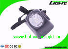 China 220g LED Mining Headlamp 8000lux Brightness For Fire Fighting / Overhauling factory