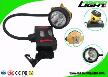 China IP68 Waterproof LED Mining Light Underground 15000 Lux High Beam Flame Resisitant factory