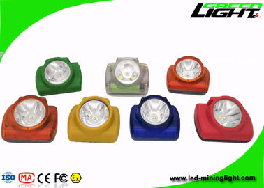 China PC Beam Cordless Mining Lights Safety Rechargeable OLED Screen With Lithium Battery factory