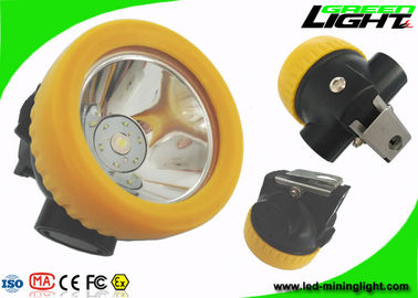 China Lightweight Cordless Mining Lights Cap Lamp 5000lux IP68 Waterproof Lithium Battery factory