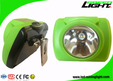 China IP68 Waterproof Mining Hard Hat Led Lights , Miners Helmet Light PC Material factory
