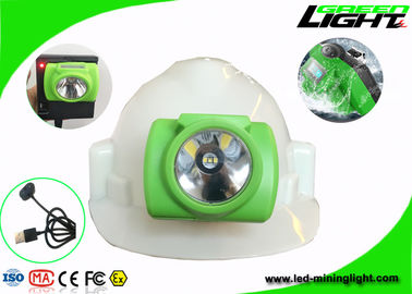 China Undergroud LED Mining Light Lighweight OLED Screen 3.7V 14-16hrs Working Time factory