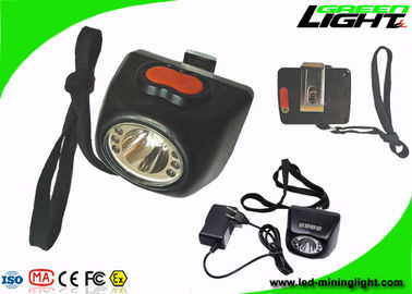 China Safety IP68 LED Mining Light 8000lux Brightness 5.7Ah Battery 1000 Cycles CE Approval factory