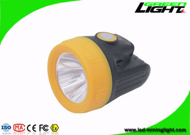 3.8Ah Capacity Miners Cap Lamps Cordless 10000lux For Mining Site Safety Lighting