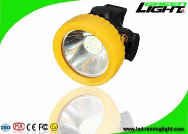 China Anti Explosion LED Mining Light 2.2Ah Battery 230mA IP68 With 100000hrs Life Span factory