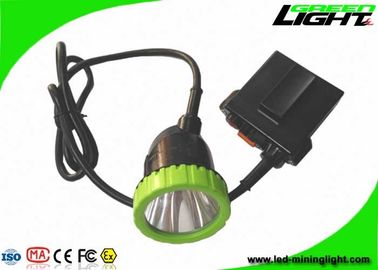 650Lum 3.7W 50000lux LED Mining Light 11.2Ah Li - Ion Battery With 13hrs Lighting Time