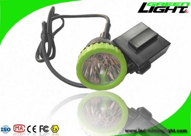 China 3.7W High Power LED Coal Mining Lights 50000lux 13hrs Lighting Time Head Lamps factory
