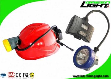 China Lightweight Semi Corded Coal Mining Lights 10000Lux 5.2Ah Li - Ion Battery IP68 factory