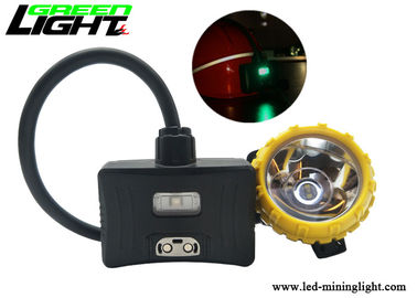China Underground Coal Mining Lights 6.8Ah Panasonic Battery With Rear Warning Light factory