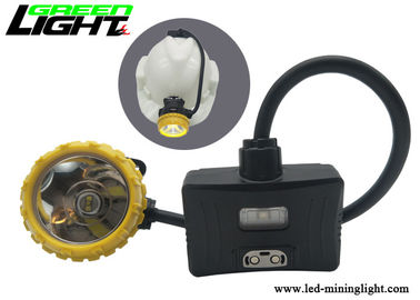 China 15000lux Rechargeable Led Headlight 13-15 Hours Warking Time 6.8Ah Panasonic Battery factory
