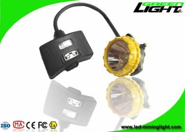 China Semi Corded Rechargeable LED Headlamp 15000lux 6.8Ah Big Capacity IP68 1.7W factory