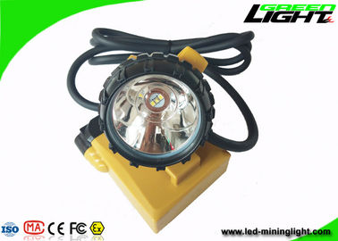 China SOS Waterproof Led Headlamp 25000lux GL12-A LED 10.4Ah Anti Explosion PC Material factory