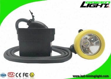 China 10000lux Underground Coal Mining Cap Lights USB Charging Cable With SOS Function factory