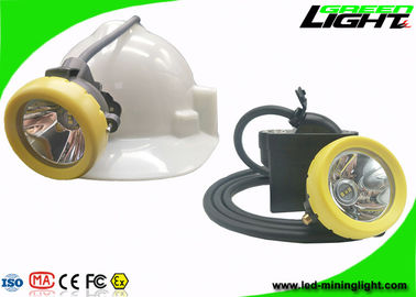 China IP68 Coal Mining Cap Lights 10000lux 7.8Ah Li - Ion Battery 18hrs Long Lighting Time factory