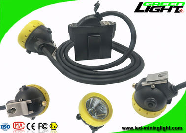 China Hard Hat Rechargeable Miners Headlamp USB Charging 1.67W with Strong Brightness factory