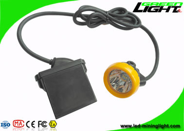 China Impact Resistant Coal Miner Hard Hat Light 10000lux With Low Power Warning Function factory