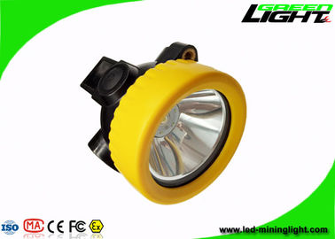 IP68 Waterproof Miners Cap Lamps Cordless 5000lux Brightness Small Size PC Material