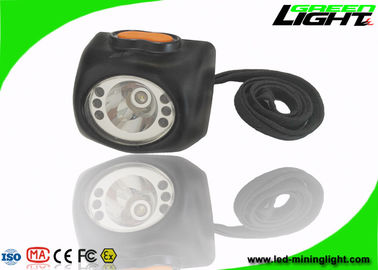 China Black Color Mining Cap Lights 8000lux High Brightness Headlamp With Digital Screen factory