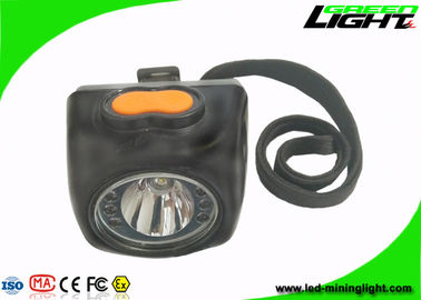 Digital Screen Underground LED Mining Headlamp 8000lux IP68 With Safety Rope