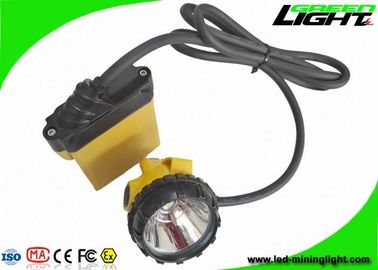 China 25000Lux Mining Cap Lights 1200 Battery Cycles With Low Power Warning Function factory