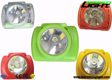 China Portable Mining Cap Lights Lamp Oled Screen 13000lux IP68 14-16hrs Woking Time factory