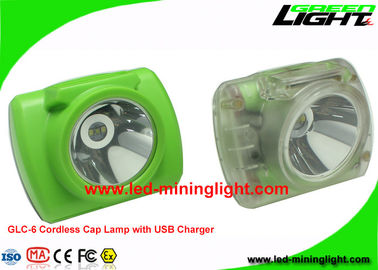 China Digital Cordless LED Miners Cap Lamp Mining Hard Hat Lights 13000Lux 6.8Ah Battery factory
